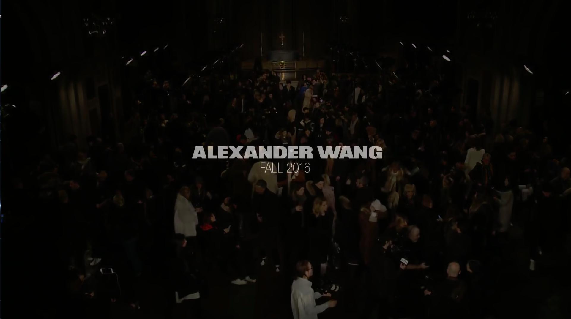 Alexander Wang FW 2016