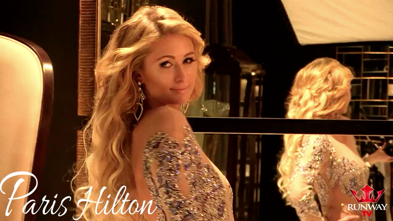 Paris Hilton Runway Music Issue magazine